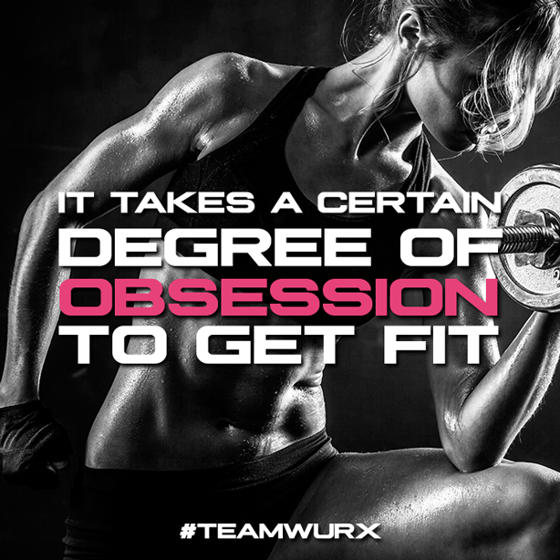 It take a certain degree of obsession to get fit | 8 Gym Quotes for Inspiration
