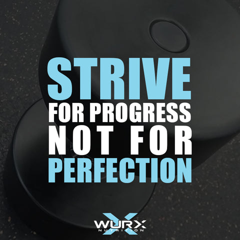 Steve for progress not for perfection | Motivational Quote