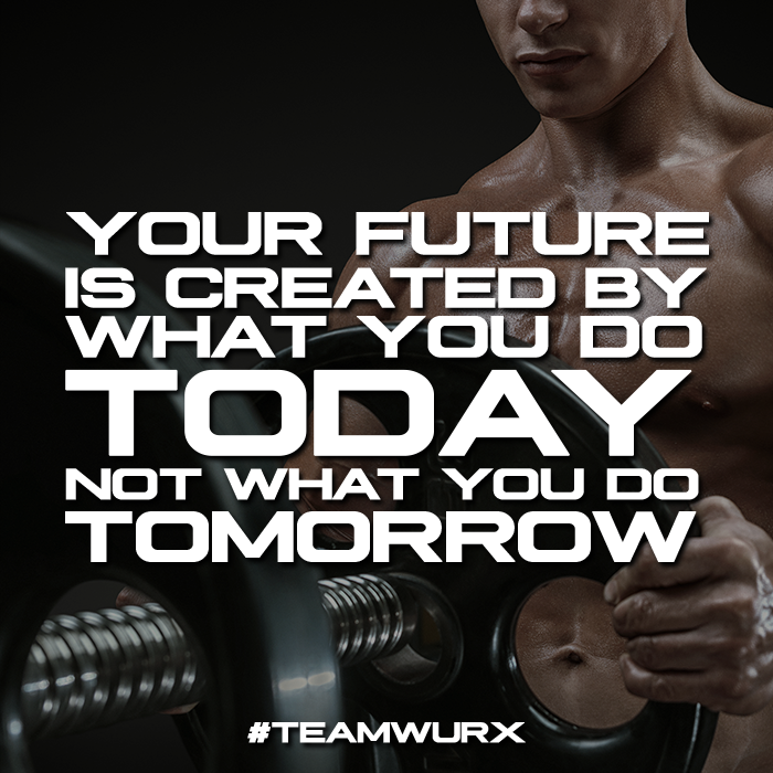 Your future is created by what you do today, not what you do tomorrow | 8 Gym Quotes for Inspiration