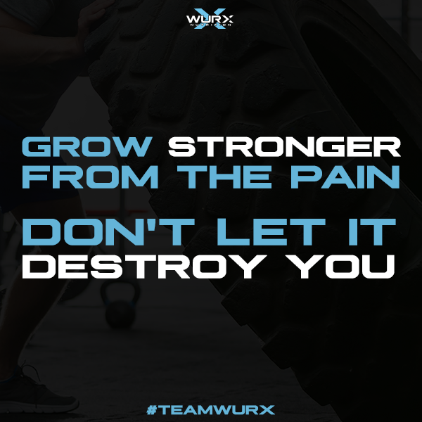 Grow stronger from the pain, don't let it destroy you | 10 Motivational Quotes