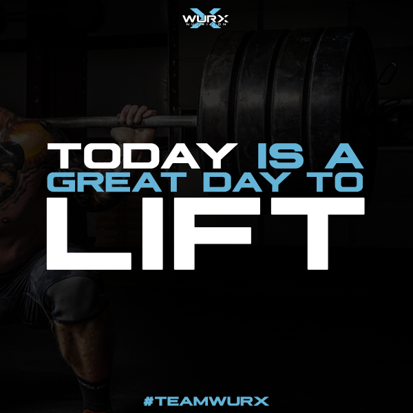 Today is a great day to lift | 10 Motivational Quotes
