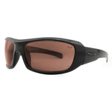3825 Drivers Sunglasses Shiny Black