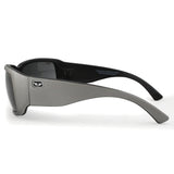 S3650 Matt Grey Exterior and Black Interior Frame with Grey Lens