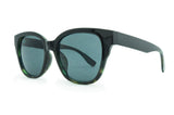 8122-b  Green  Tort with Smoke Lens