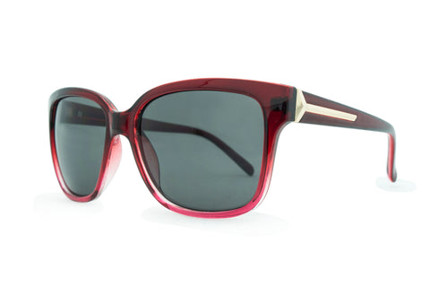 8126-c Gradient Red with Smoke  Lens