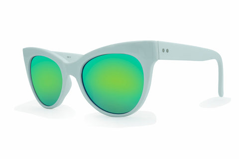 8127-c White with Mirror Lens