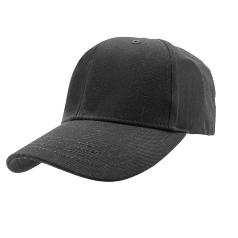 SUMMER CAPS- Baseball Cap in Black