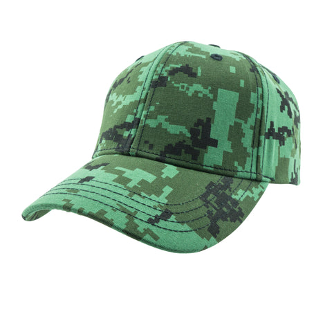 SUMMER CAPS- Green Camo
