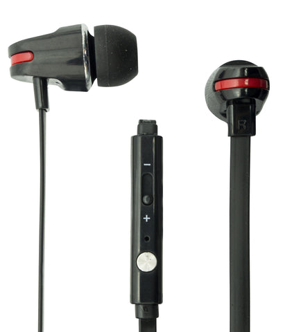 EARPHONES + Hands-Free Microphone - MAE - More colours available