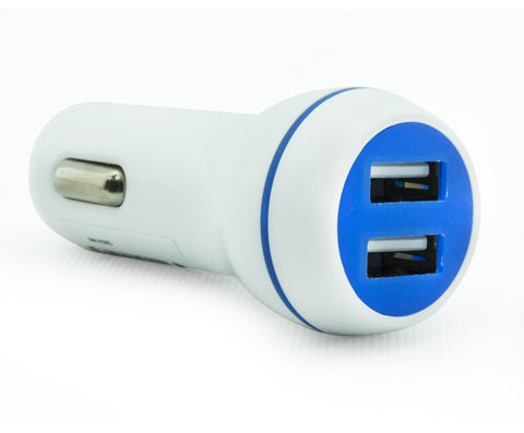 Dual USB Car Charger - MAUSBD - More colours available