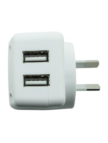 Wall Charger with Dual Usb -  MAWCDUSB