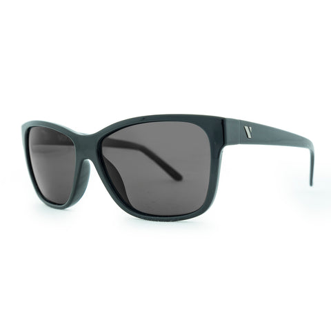 3700 Polarised gloss black with smoke lens