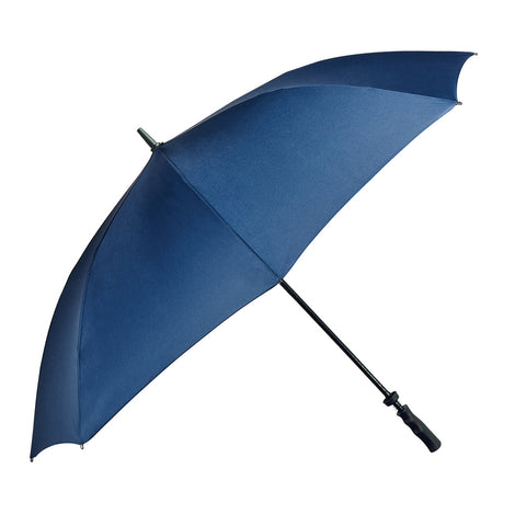 UMBL02 - The Large Straight Classic Blue Rain Umbrella