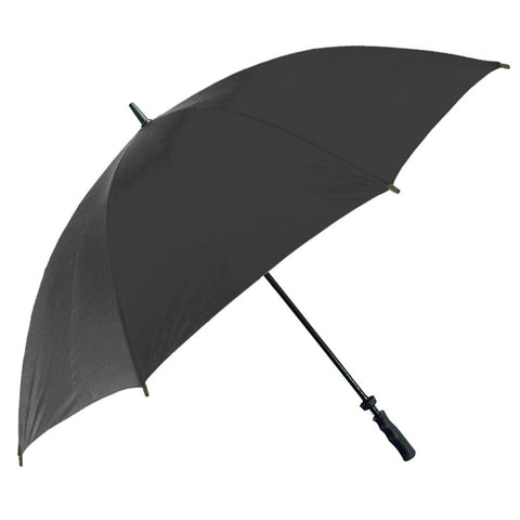 UMBL02 - The Large Straight Classic Black Rain Umbrella