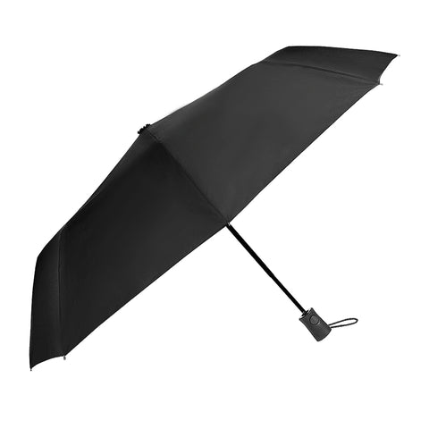 UMBL04 - The Classic Folded Wind Resistant Black Umbrella