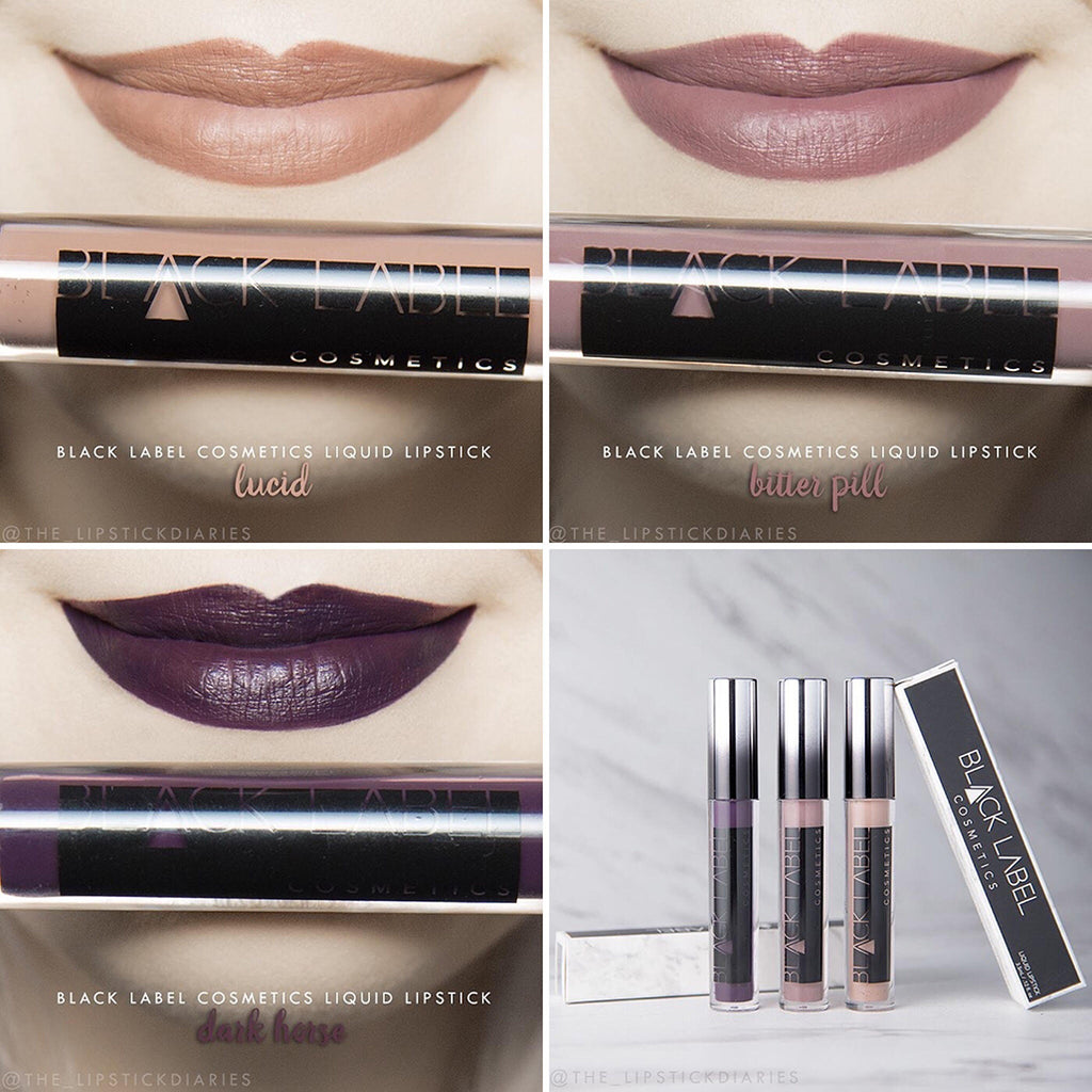 Black Label Cosmetics Liquid Lipstick Review by The Lipstick Diaries