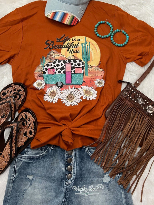 western graphic t-shirt