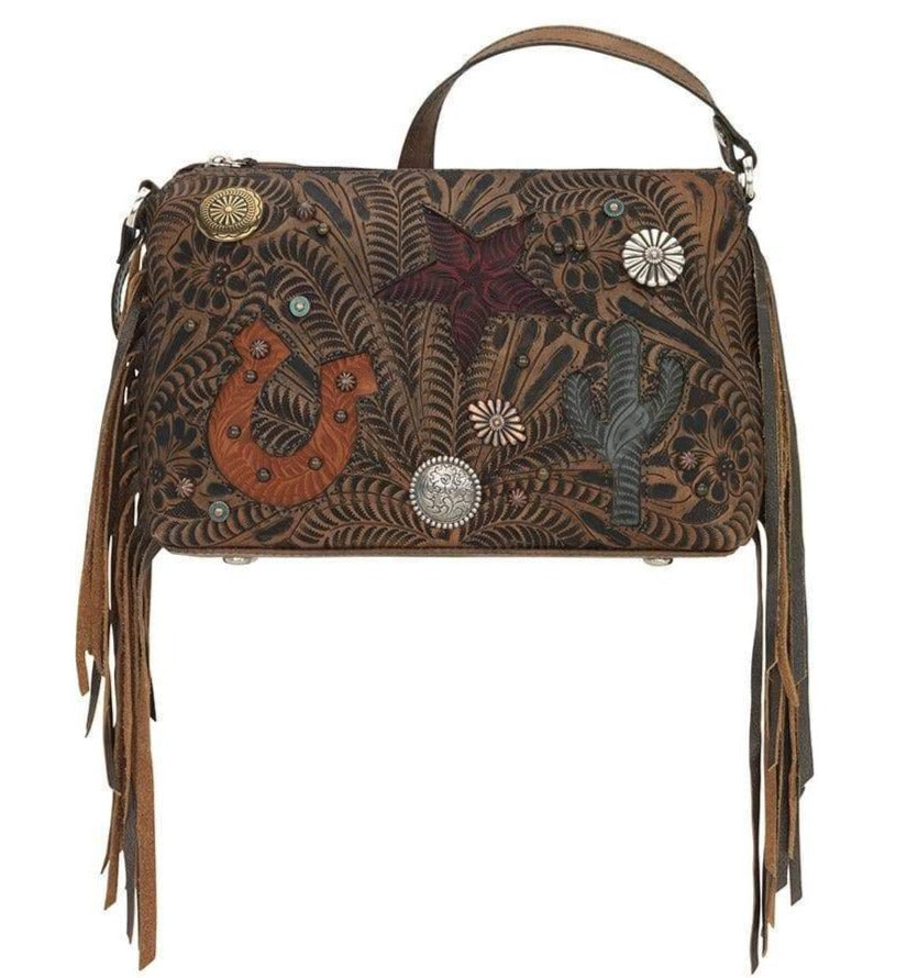 Chestnut Sun Valley Western Crossbody Bag