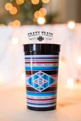 Crazy Train Serape Print Cup