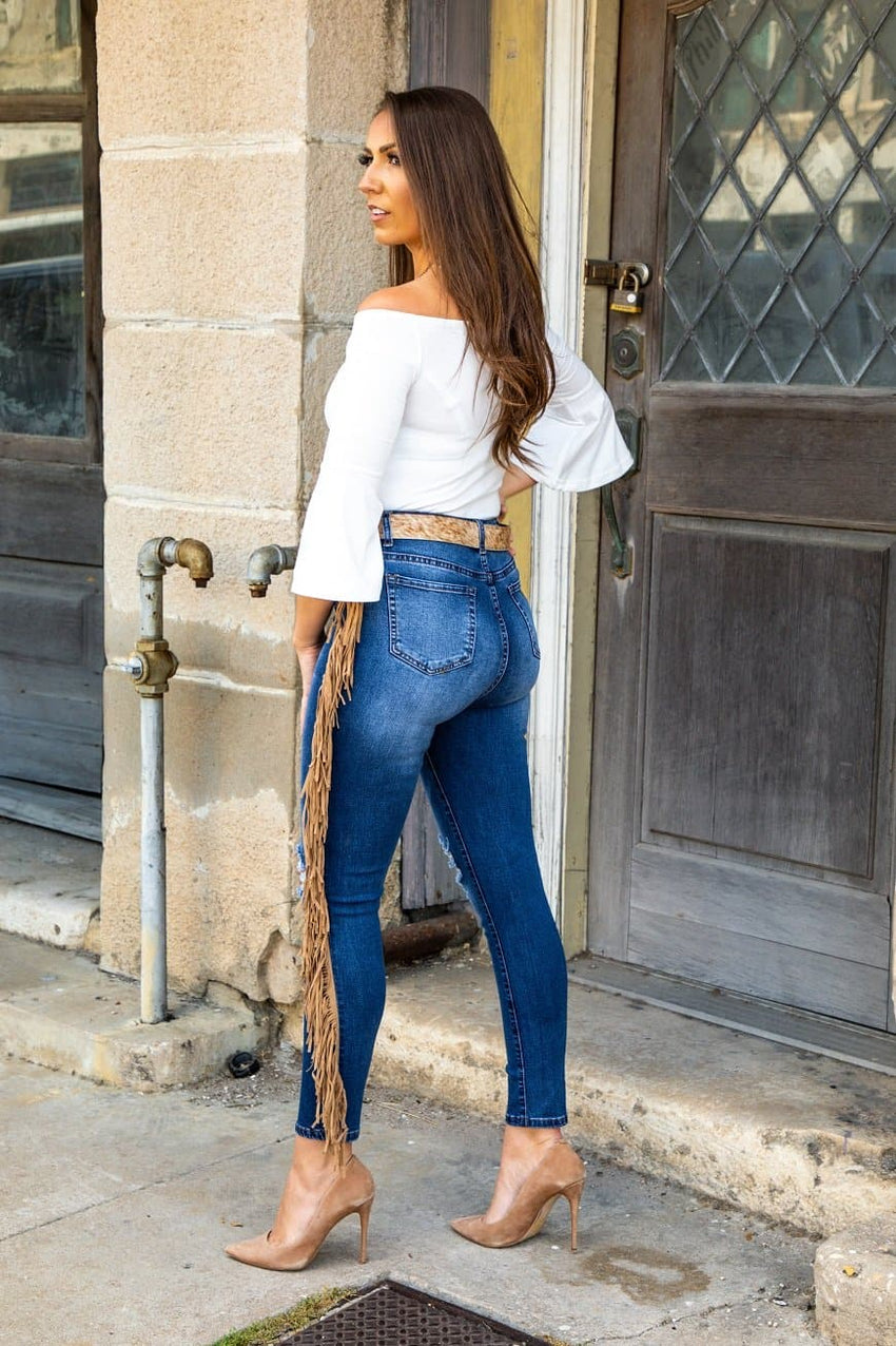 Friday's Fringe Jeans