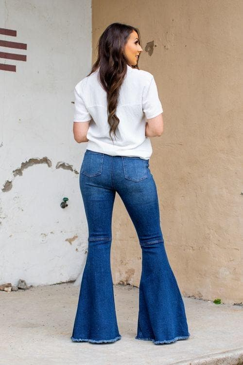 Women's bell bottoms back