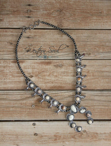 Jaci Squash Blossom Necklace