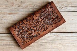 Mila's Tooled Leather Wallet