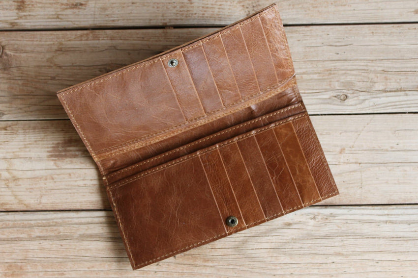 Contessa's Tooled Leather Wallet