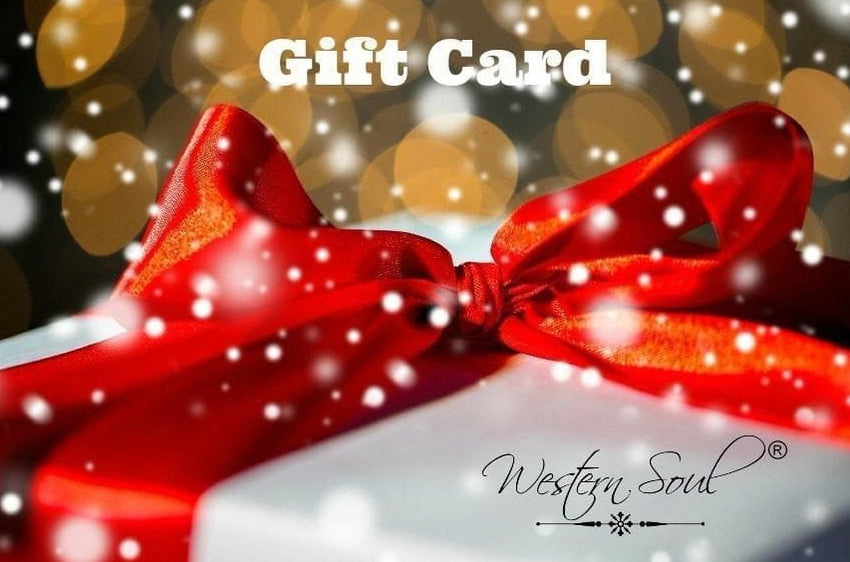 Gift Card from Western Soul®