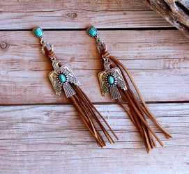 Out West Thunderbird Earrings