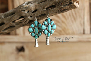 Mina Squash Blossom Earrings