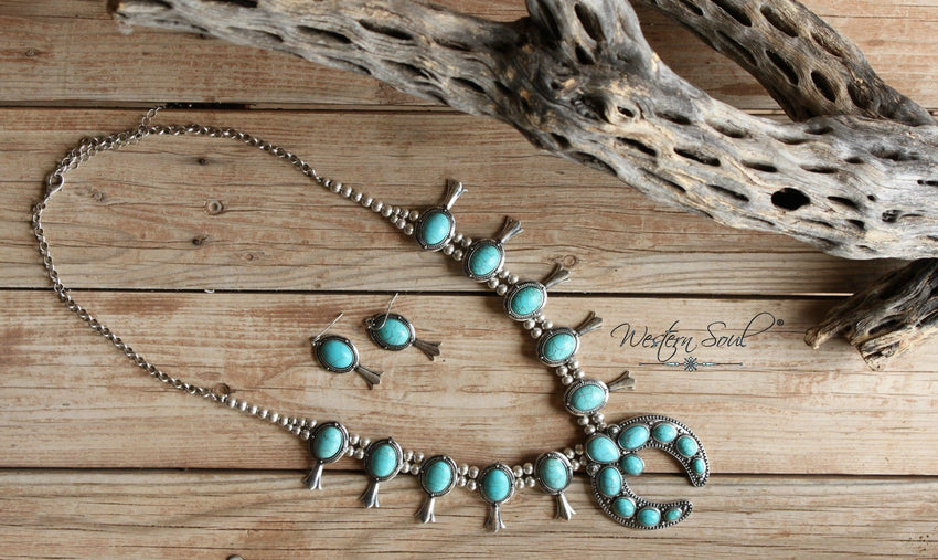 Sky Dancer Necklace Set