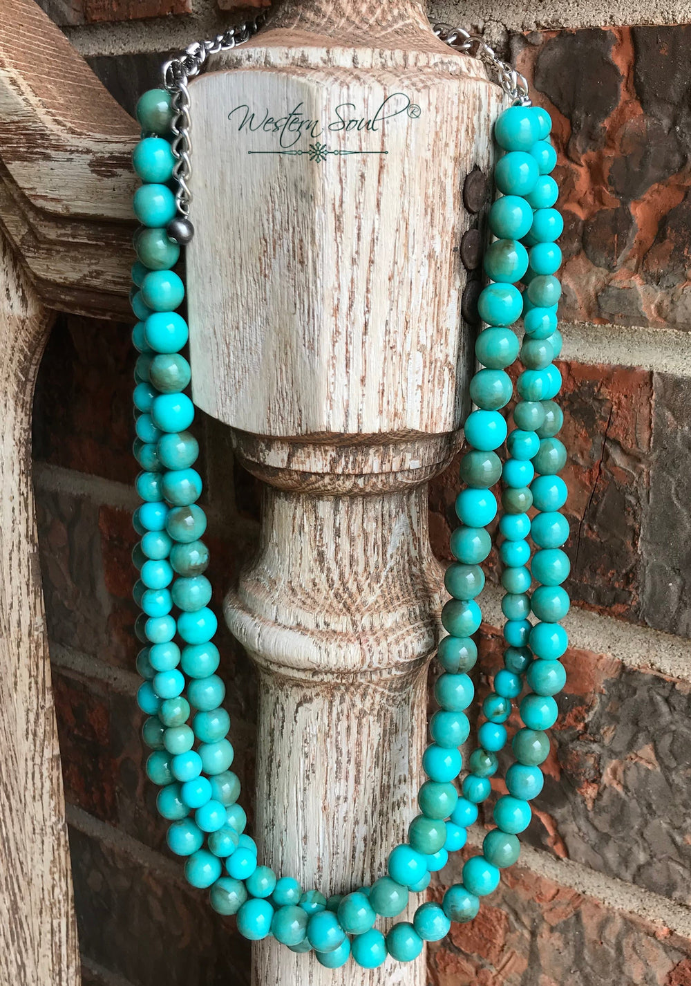 Harper Turquoise Beaded Necklace