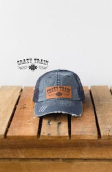 Crazy Train Clothing Denim Cap