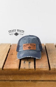 Crazy Train Denim Cap