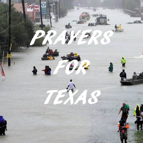 Prayers for Texas -- Hurricane Relief