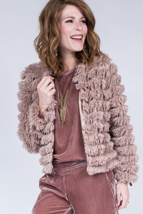 Plush Mauve Jacket