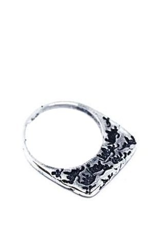 Silver Cattle Stack Ring
