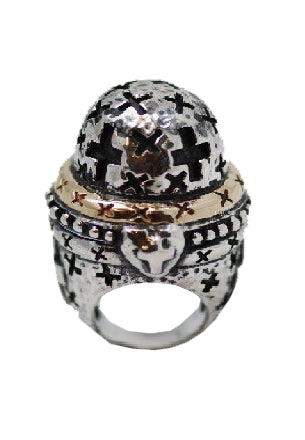 Large Dome Crosses Ring