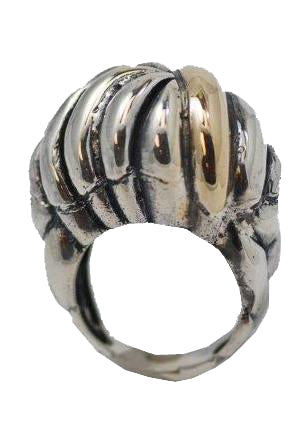 Braid Shank Dome Ring