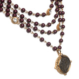 Bespoke 6MM San Benito Pearl Magdalena - Gold - Black Night - Elderberry