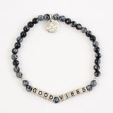 Silver Little Words Project Bracelet
