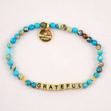 Gold Little Words Project Bracelet