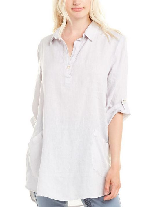 Rory Tunic - Pale Grey