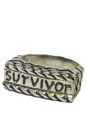 Survivor Endearing Ring