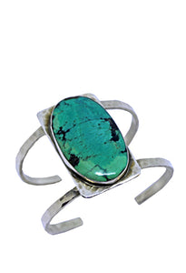 Large Oval Turquoise Cuff