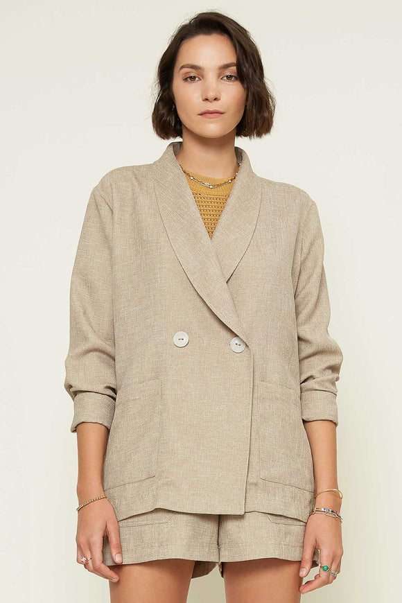 Almond Tan Blazer