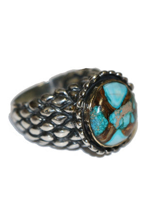 Pomegranate Blue Bronzite