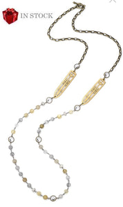 "45"" Golden Mix Layering Necklace"