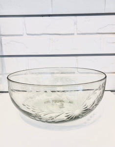 Mexico Glass Punch Bowl